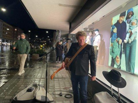 Rich Alexander er et kjent fjes for dem som ferdes i Bergen sentrum.