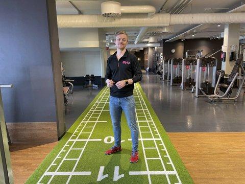 Driftsdirektør for EVO treningssentre, Kjetil Fanebust, er glad for at treningssentrene nå får åpne dørene igjen.