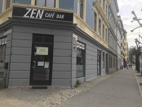Zen Café har vært stengt siden søndag.