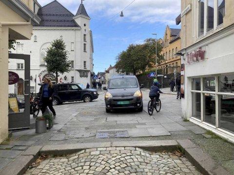 Ifølge Sveinung Igesund var den ulovlige kjøringen særlig merkbar da Bryggen stengte i fjor.