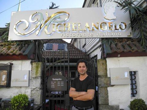 Daglig leder og restauranteier Idris Celep, forteller til BA at den nye restauranten ble hetende Michelangelo, fordi den trengte et navn med historie.