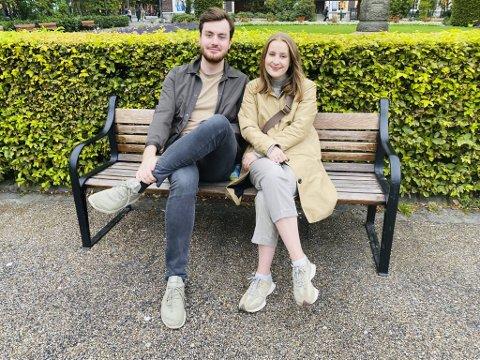 Vegard Gunnarson (27) og Sofie Thornhill (25) fra Nordnes har planer om å flytte fra leilighet til enebolig. For dem er skyhøye strømpriser dårlig nytt.