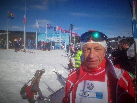 Willy Vatndal fra Stokmarknes med en sterk 7. plass i klassen 65-69 år. (Foto: Privat)
