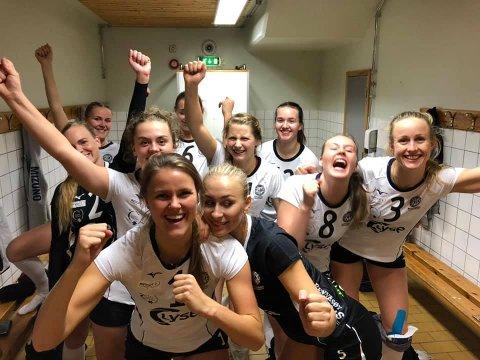 Råsterk seier: Randaberg-jentene vant i Bergen søndag og inntar igjen tabelltoppen i eliteserien.