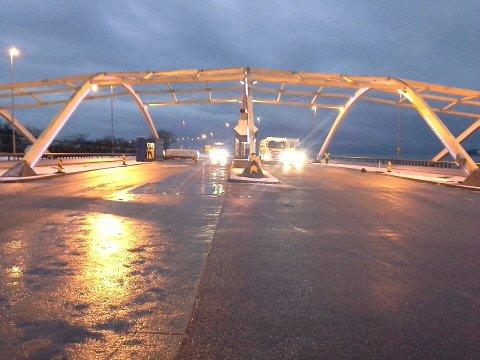 Vegvesenet startet kontrollen på Sokn klokken fem i morges.