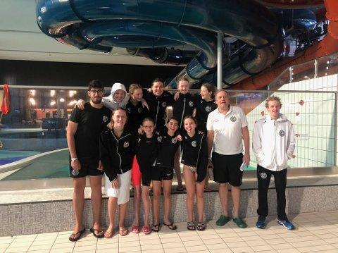 Skagerak swim: Det ble levert solide prestasjoner fra svømmerne i Randaberg IL svømming i helgen.