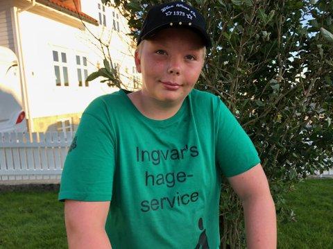 I arbeid: Ingvar Vindenes trives i egen jobb.