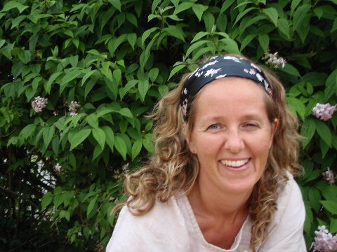 Fysioterapeut: Sarah Nordmark har klinikk i Randaberg sentrum og forteller om en utfordrende periode i mars da hun ble nødt til å stenge i flere uker som følge av koronasituasjonen.