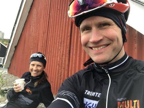 Opplevelser: Ekteparet Nina Helgeland Gundersen og Ronny Gundersen starter ny bedrift, og skal tilby forfriskende opplevelser til mindre grupper innen ulike segment.