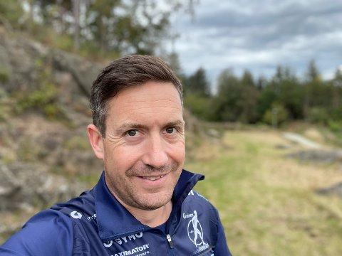 Treningskompis: Alexander Middleton tok initiativ til en løpsklubb, og så nå har meldt seg på til Stafett for Livet Randaberg.