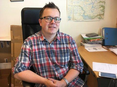 SKAL LEDE KRØDERBANEN: Stein Rudi Austheim tiltrer 1. februar som styrer for Krøderbanen.
