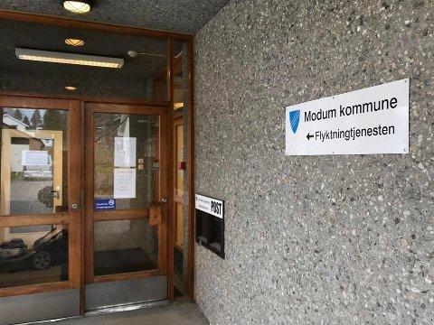 ANMODNING: Modum kommune har fått spørsmål om å bosette 18 flyktninger i 2019.