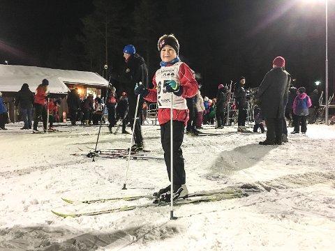 Lars Jørgen Engan la like så godt ut på en ekstrarunde etter fullført skikarusell.