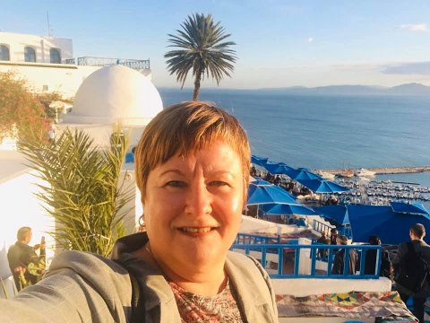 TUNISIA: Nina Mjøbergs arbeidsområde er i over 20 land.