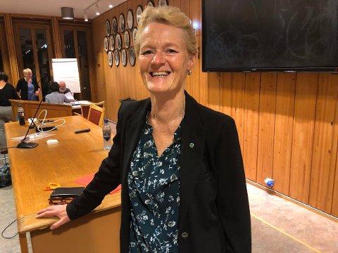 NY ORDFØRER? Hvis hun vil kan Sunni G. Aamodt (Sp) kalle seg ordfører i Modum – som den første kvinnen i historien.