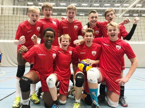 TIL NM: Tre lag fra Vikersund Volley skal spille i NM.