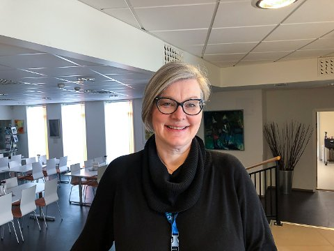 DAGLIG LEDER: Monica Winther leder Sigdal Frivilligsentral, som lanserer sin nettside torsdag 26. mars.