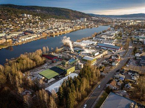 TIL MODUM? Vajda-Papir Scandinavia AS på Sundland i Drammen er på flyttefot. Dialog med Modum næringsråd er opprettet, men det finnes i realiteten ikke areal til bedriften i Modum.