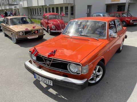 BILKORTESJE: Cirka 80 biler deltok og første etappe gikk fra Eggedal til Prestfoss i fjor. Nå ønsker Modum å kopiere suksessen.