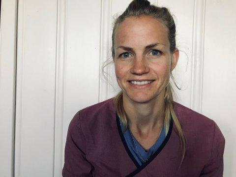 NY LEGE: Tone Helgetveit (35) begynner som fastlege i Åmot 1. oktober.
