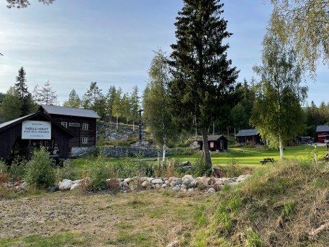 MØLLA: Sterke krefter ønsker at Trillemarkasenteret bør plasseres på området ved Eggedal Mølle.