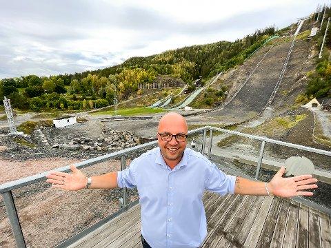 INVESTOR: Morten Wahlmann går inn med kapital for å bidra til utviklingen av Vikersund hoppsenter.