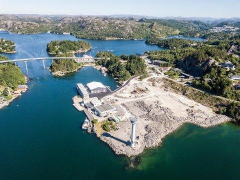 """FIKK DISPENSASJON: Langholmen skulle bli et """"unikt"""" og """"attraktivt"""" område for havnevirksomhet."""