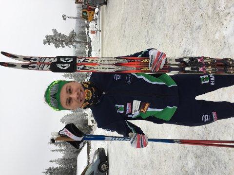 Stian Grastveit blei nummer 46 av NM-deltakarane på 15 kilometer klassisk i Lygna torsdag.
