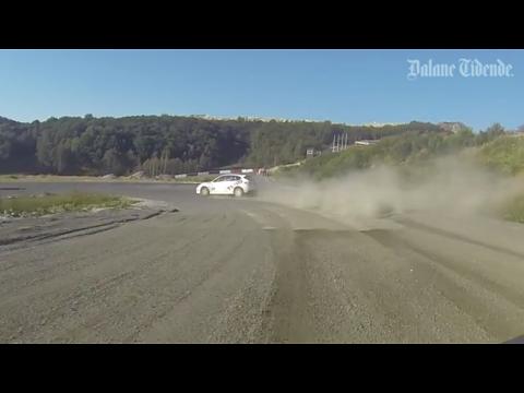 Bli med på innsida av en ekte rallybil, rundt banen på Egersund Motorsportsenter!