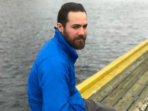 Maurizio Eduardo Canessa Mesias var på sykkelferie i Norge. I Egersund ble han frastjålet både sykkel og bagasje.