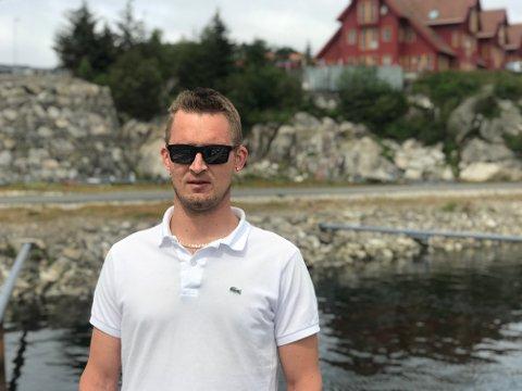 BYGGEPROSJEKT: Badnor AS skal føre opp et nytt næringsbygg i Fiskarvik på Eigerøy. Ifølge daglig leder Morten Øglend skal grunnarbeidet starte om kort tid. Grude bygg AS erhovedentreprenør.
