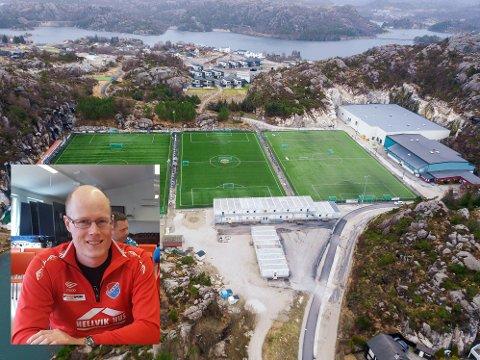 ØKONOMISK UTFORDRING: Eiger FK må klare seg uten 177.000 kroner fra en leieavtale klubben har hatt med kommunen. Styreleder Anders Midbrød vil prøve å unngå en heving av medlemskontingenten.