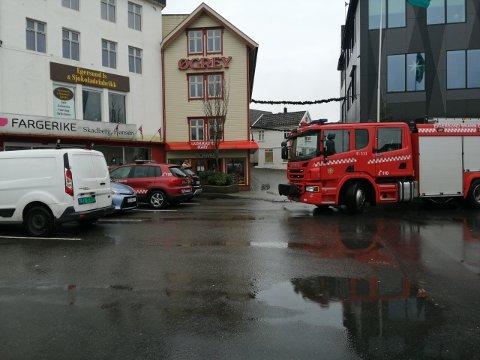 Søndag formiddag er det strømbrudd i Egersund sentrum og sørover i Eigersund.