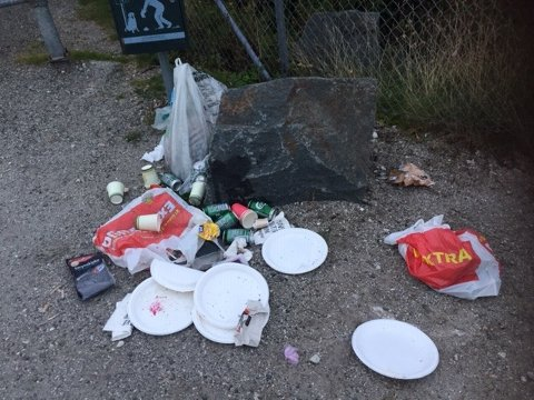 GLEMT?: Dalane friluftsråd har fjernet søppelet på Den gamle Jærbanen.