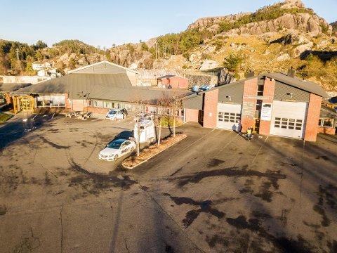 FLYTTER IKKE HIT: Kommunen har konkludert med at det ikke blir kjøp av trafikkstasjonen på Slettebø.