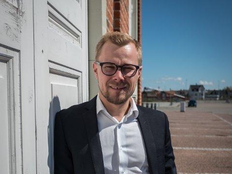 NY JOBB: Dansken Jacob Clausen skal leia kontoret i Danmark.