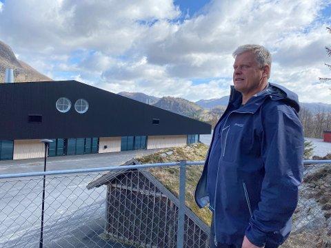 KLAR MARKENSSJEF: Etter eitt års koronaavbrekk ser Svein Oskar Wigestrand ser fram til at det igjen skal arrangerast Bjerkreimsmarken i og utanfor Bjerkreimshallen.