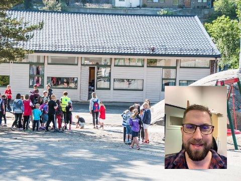 NEI TAKK: Lars Kristian Ramsli Larsen tar ikkje imot tilbodet om å bli rektor på Grøne Bråden skule. Han blir verande i jobben som undervisningsinspektør på Vikeså skule.