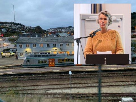 IKKE SP SITT ANSVAR: May-Sissel Nodland kjøper ikke Øyvind Misjes argument om at Senterpartiets politikk lokalt fører til økt sentralisering.