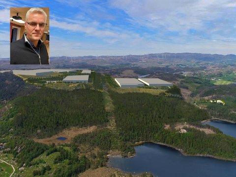 ENERGIBEHOV: Direktør Idar Sønstabø i Dalane Energi sit i styret for North Sea Energy Park AS. Han veit ein heil del om kraftbehovet til framtidige etablerar i industriparken, og, ikkje minst, om forholdet mellom behov og tilgang på kraft.