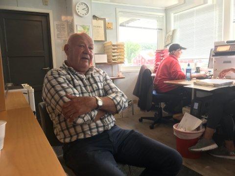 ENGASJERT: Torger Torgersen er pensjonist, men styrelederen er fortsatt mye å se på kontoret hos Fonn Egersund AS. Nå er han blant annet opptatt av å få på plass en mottaksordning for marint avfall. Ordningene som allerede eksisterer, mener han ikke er gode nok.