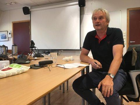 VANSKELIG SITUASJON: Kommuneoverlege Bjarne Rosenblad er ikke optimist med tanke på å få rekruttert nye fastleger til Eigersund. Kommunen mangler for øyeblikket to fastleger, og i desember kan tallet være oppe i tre. – De nåværende løsingene er ikke ideelle, erkjenner Rosenblad.