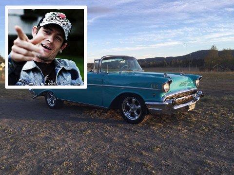 DONINGEN: Denne bilen skal Lars-Erik Blokkhus bruke til å kjøre brudepar.