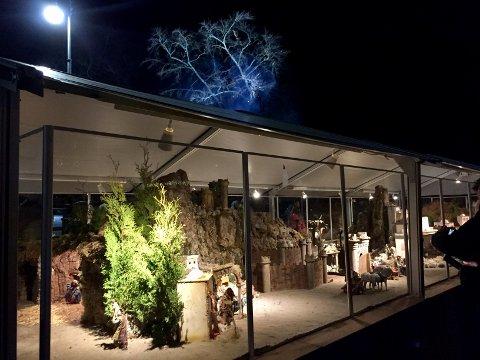 50 KVM KRYBBE: Julekrybben - eller «Belen», som den kalles på spansk - er 48 kvadratmeter stor og kan besøkes av store og små hele julesesongen.