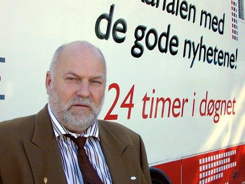 VISJON NORGE: Jan Hanvold er redaktør for den kristne TV-kanalen som har møtt mye kritikk etter at det ble avdekket at seerne bes om å gi store pengegaver.