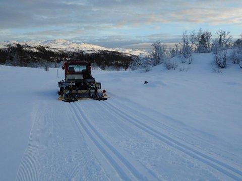 NORE OG UVDAL: Det er kjørt løyper blant annet i Åsbøseterdalen (bildet) og Dagaliområdet.