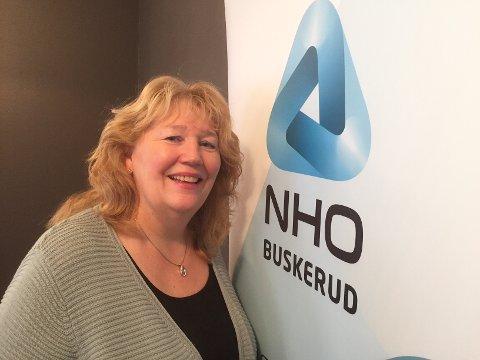 JAKTER MEDLEMMER: Nå satser NHO på et bedre tilbud til gründere forteller regindirektør Grete Karin Berg.