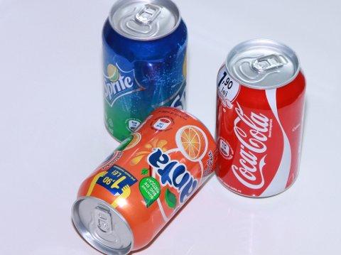 KOMMER TILBAKE: Sprite og Fanta er tilbake hos Rema 1000 fra april. Coca-Cola har ikke vært borte fra butikkene.