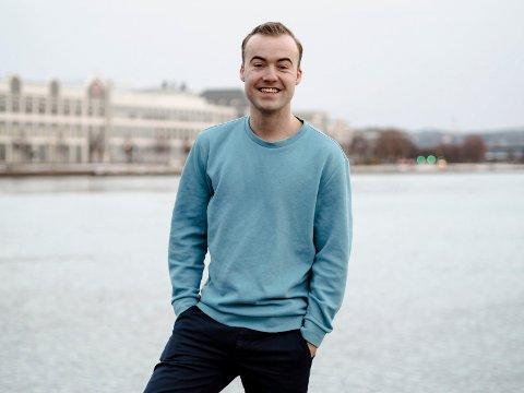 FILMAKTUELL: Håkon T. Nielsen spiller soldat i den kommende storfilmen «Den 12. mann».