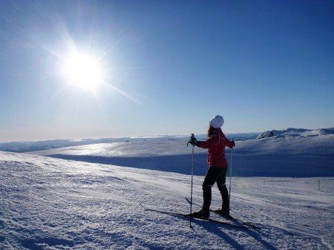 DRØMMEVINTER: Man trenger ikke reise langt for å nyte sol og snø i denne vinterferien.